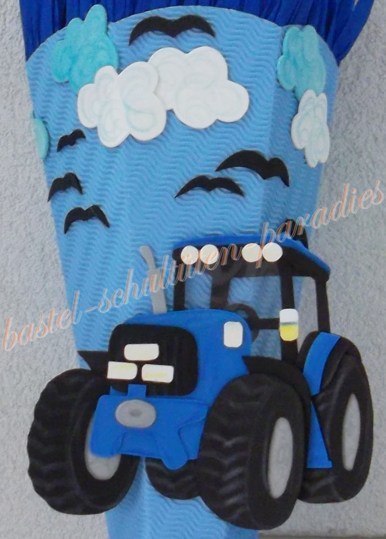 bastel schult ten paradies traktor selbst gebasteln wie bastel ich schult te bastelset. Black Bedroom Furniture Sets. Home Design Ideas