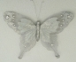 Mobile Preview: Schmetterling silber 14cmx20,5cm